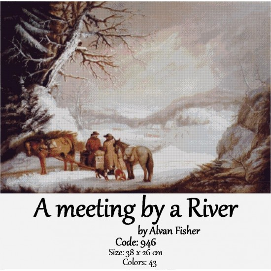 A meeting by a River