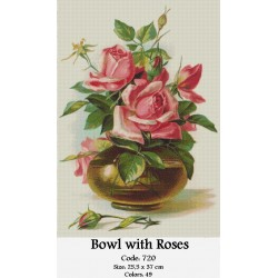 Bowl with Roses