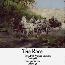 The Race by Johan Laurentz Jensen