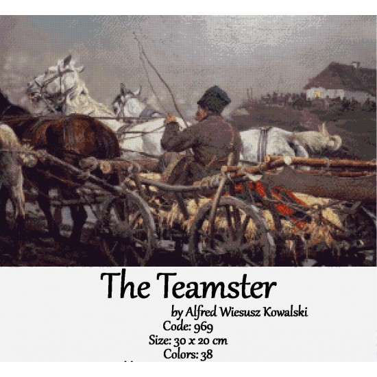The Teamster by Johan Laurentz Jensen