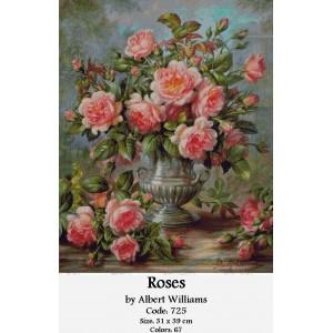 Roses by Albert Williams