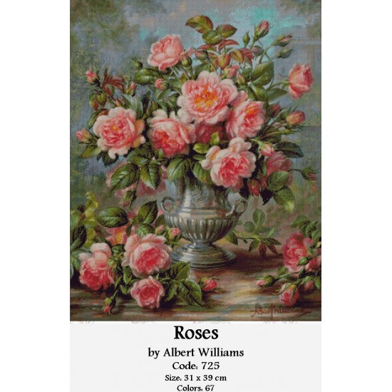 Roses by Albert Williams