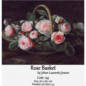 Rose Basket by Jensen