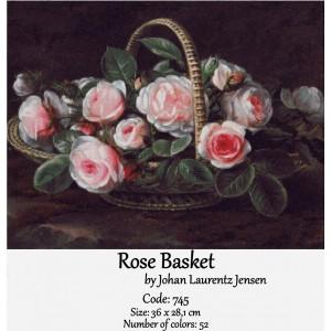 Rose Basket by Jensen