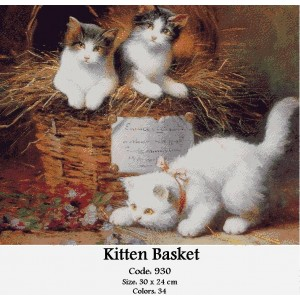 Kitten Basket