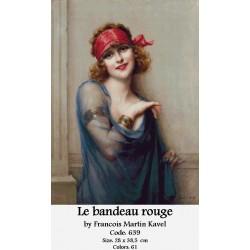 Le bandeau rouge by Francois Martin Kavel