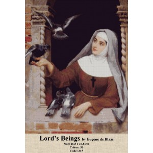 Lord's Beings by Eugene de Blaas