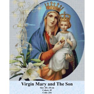 Virgin Mary and The Son