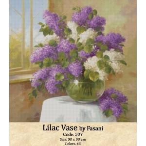 Lilac Vase by Fasani