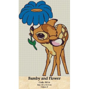 Bamby and Flower