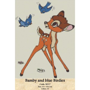 Bamby and blue Birdies