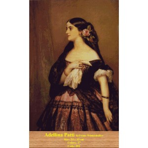 Adellina Patti by Franz Winterhalter