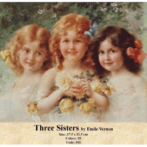 Three Sisters by Emile Vernon