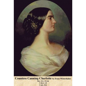 Countess Canning Charlotte by Franz Winterhalter