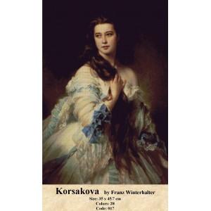 Korsakova by Franz Winterhalter