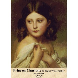 Princess Charlotte by Franz Winterlater