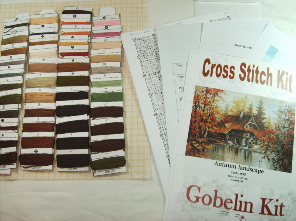 Cross Stitch Elements