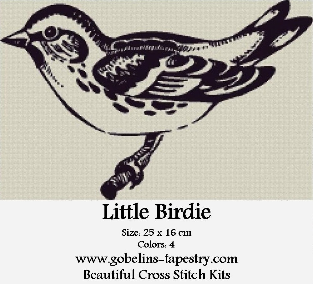 Free Counted Cross Stitch Charts – Little Birdie