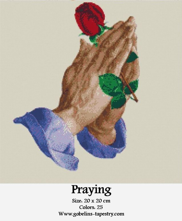 Free Cross Stitch Charts – Praying