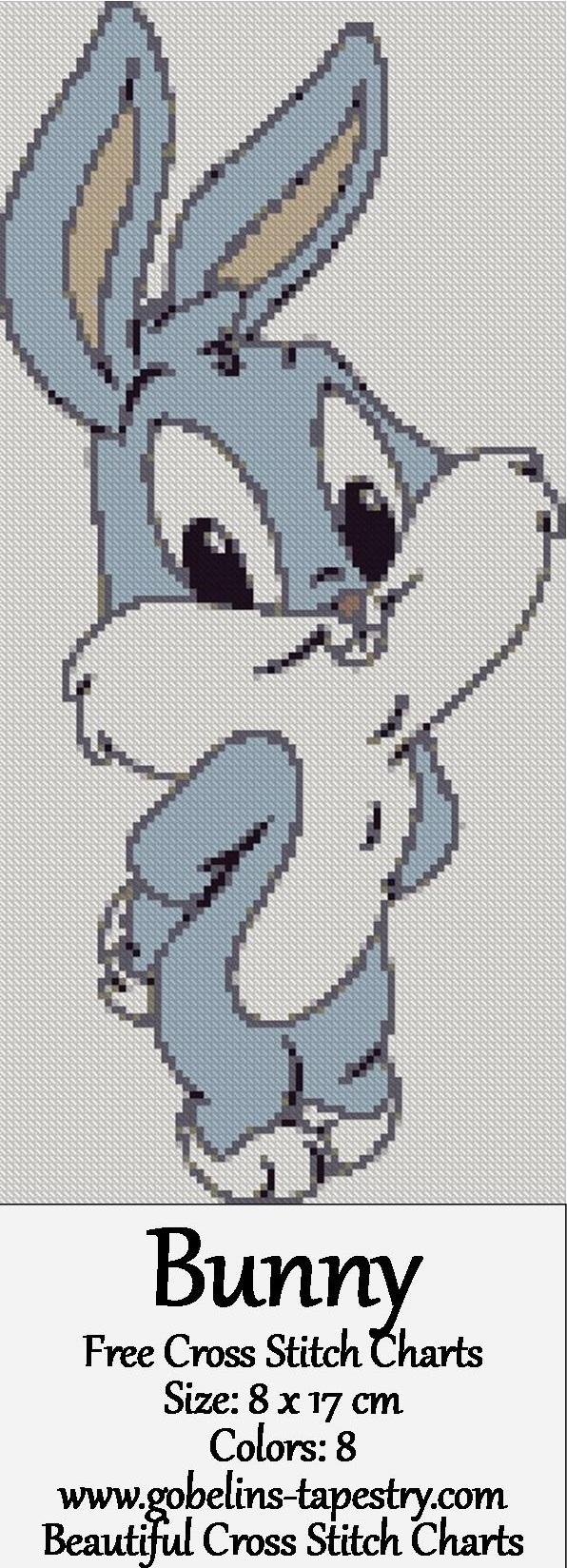 Bunny – Free Cross Stitch Charts