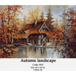 Counted Cross Stitch Set – Autumn Landscape