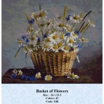 Counted Cross Stitch Kit – Basket of Flowers
