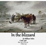 Counted Cross Stitch Kit – In the Blizzard