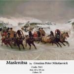 Counted Cross Stitch Kit – Maslenitsa