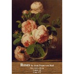 Counted cross stitch kit – Roses by Jean Frans van Dael