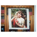 140 Colors Completed Counted Cross Stitch Tapestry